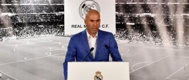 Zi Zi Zinedine Zidane es el nuevo DT del Real Madrid