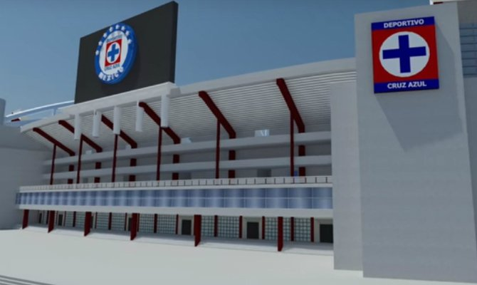 nuevo estadio del cruz azul